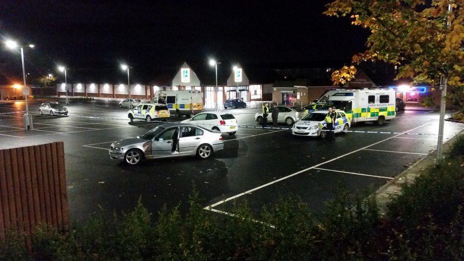Man Injured And Supermarket Car Park Sealed Off In