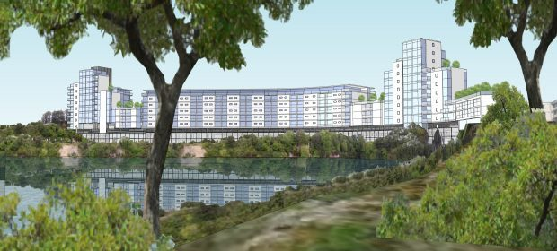 Plans for flats next to Aberdeen quarry