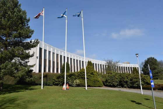 Aberdeenshire Council's HQ.