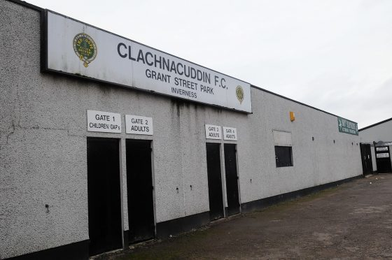 Clach FC has been granted a licence for a larger members' lounge.