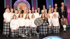 Dingwall Gaelic Choir with their conductor Kirsteen Menzies. Pics by Sandy McCook