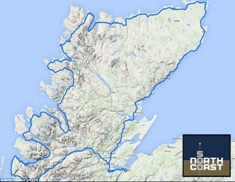 The NC500 route.