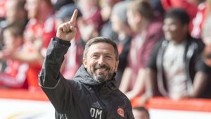 Aberdeen manager hopes home comforts can propel them to top two finish