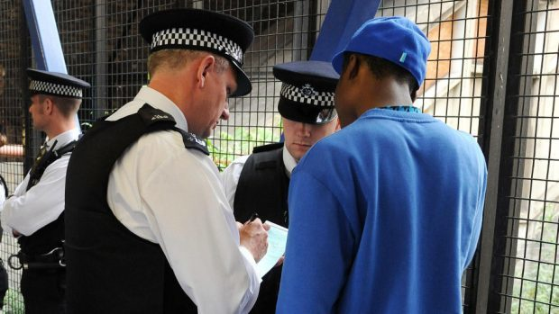 Police were given new instructions on when to stop and search