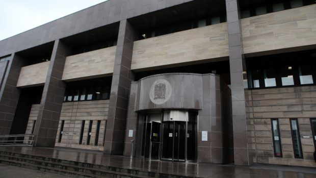 The case was heard at Glasgow Sheriff Court.