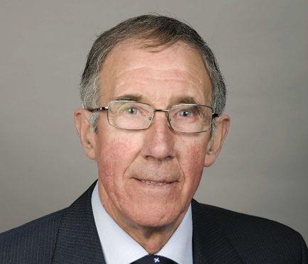 Aberdeenshire councillor Sandy Duncan