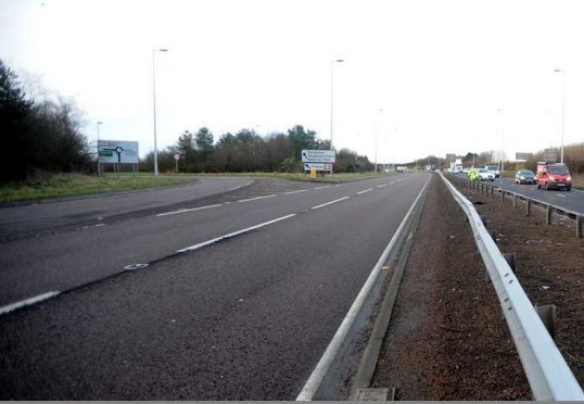 Roadworks will be carried out on the A90.