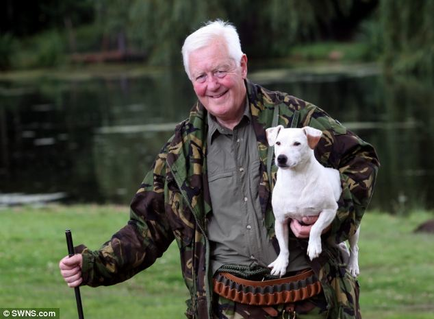 Sir Benjamin Slade on his estate