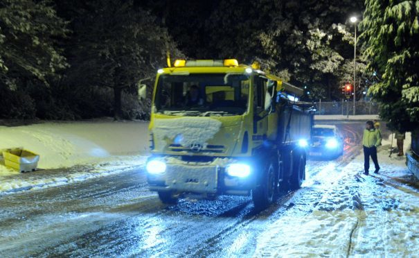 Aberdeen council bosses 'confident' they can handle rough winter | Press and Journal