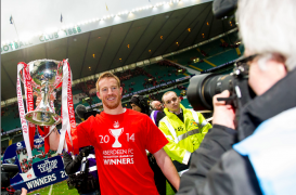 Adam Rooney relishing another showdown with Celtic at Hampden