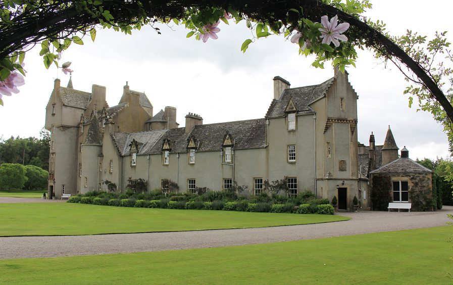 Ballindalloch Castle. Picture courtesy of reader Tom McLennan, Banff