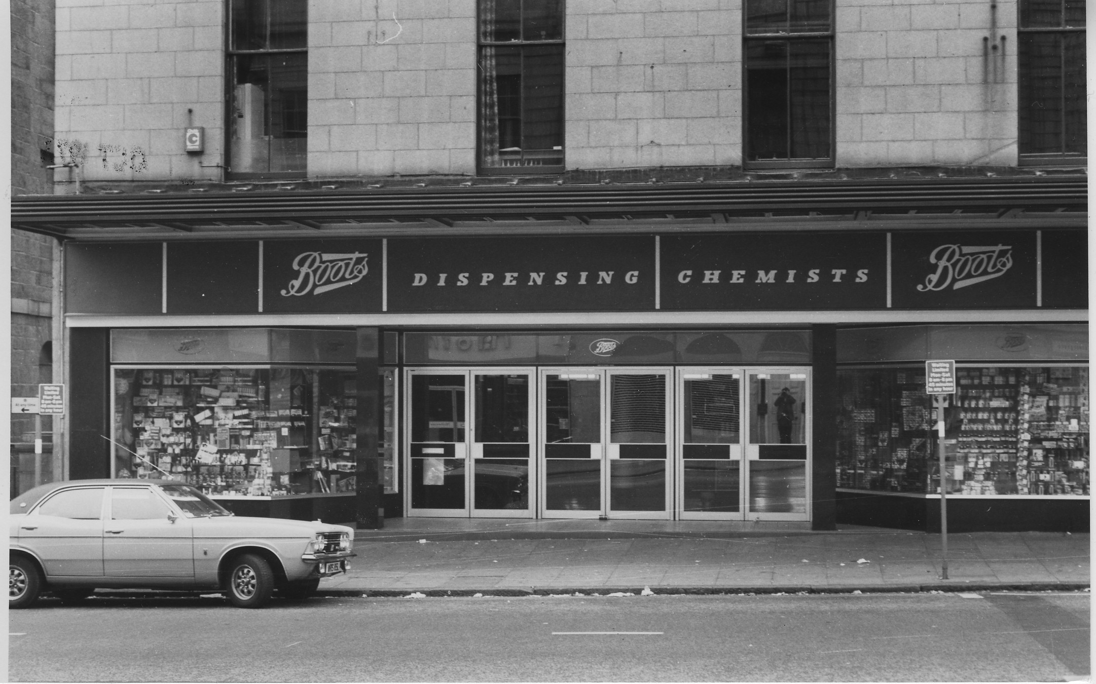 remember the rubber shop nostalgic aberdeen shop fronts to feature in new exhibition press. Black Bedroom Furniture Sets. Home Design Ideas