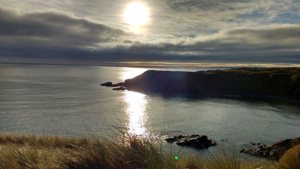 Hackley Bay Collieston. Photograph: Reader Marjorie Duncan