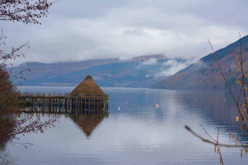 The Crannog Centre Loch Tay. Picture courtesy of reader Hazel Thomson, Elgin