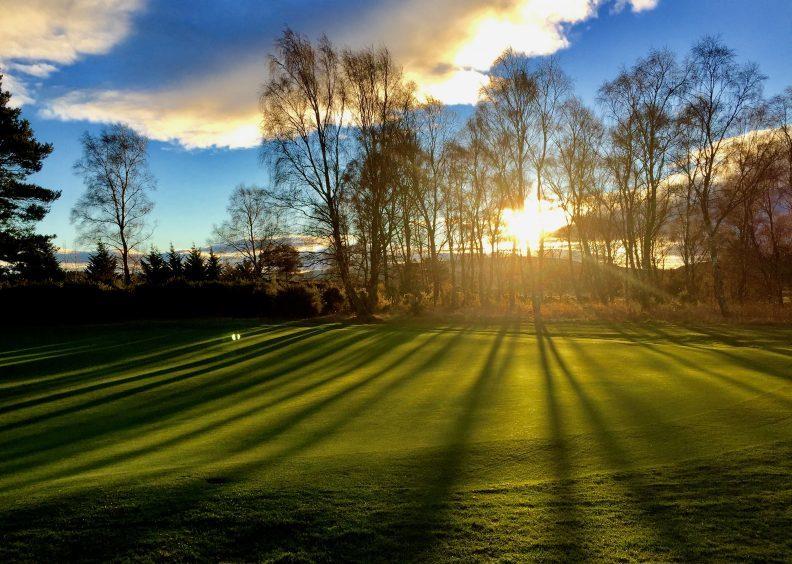 Elgin Golf Club. Photograph: Greenkeeper David Rumbles