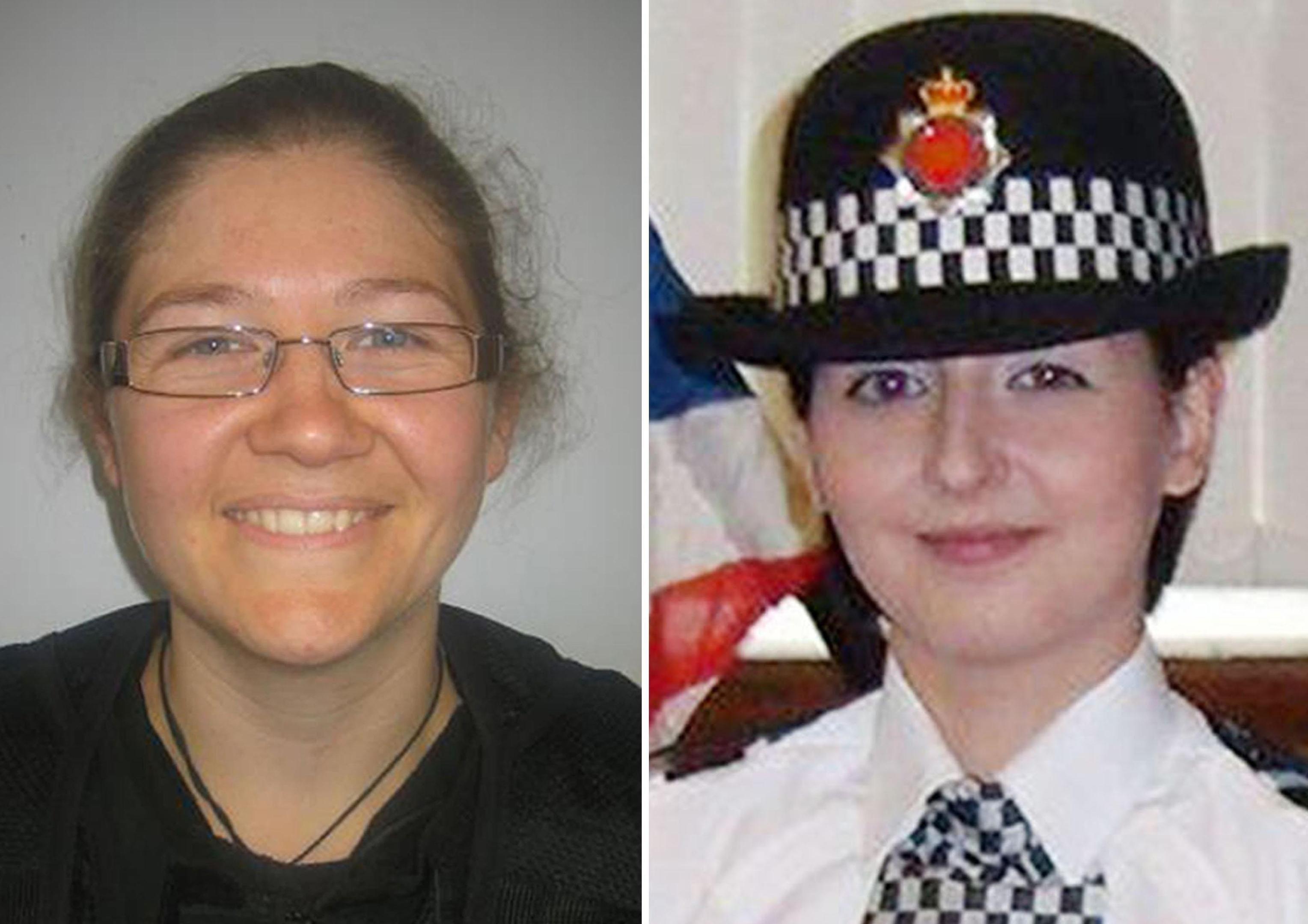 Constable Fiona Bone, 32,and Constable Nicola Hughes