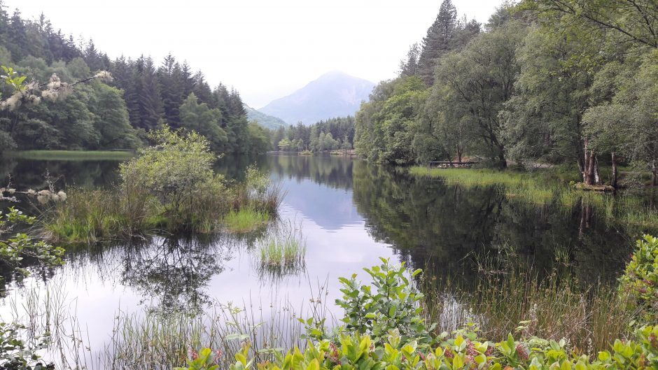 Glencoe Lochan before the rain arrived. Picture courtesy ofreader Wendy Gootjes