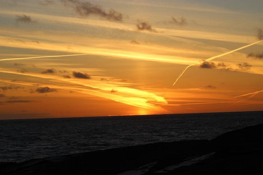 Horizon from Wick. Picture courtesy of reader Derek Bremner