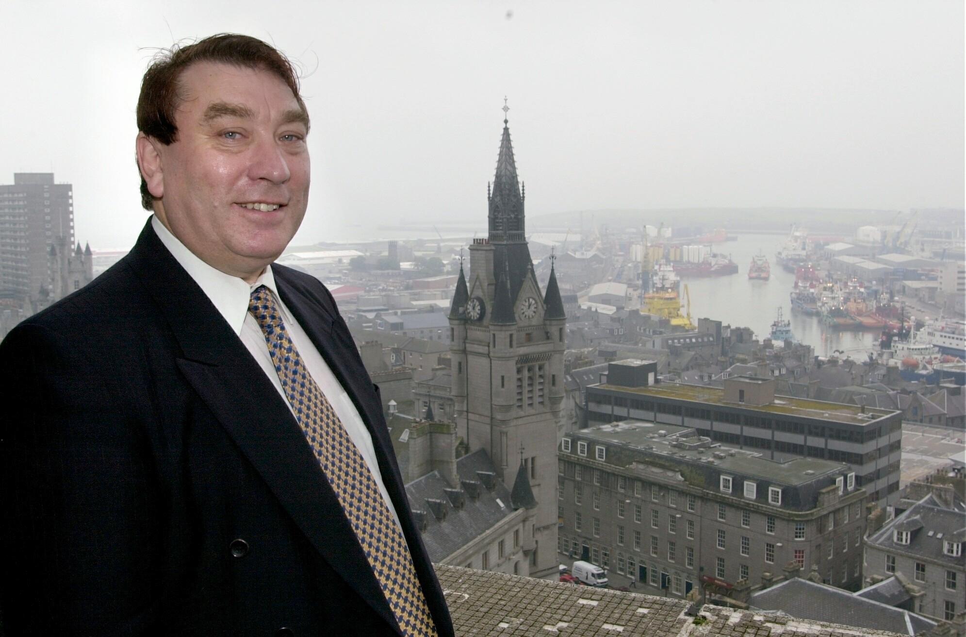 Councillor Len Ironside