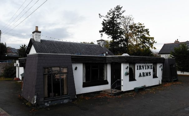 The Irvine Arms in Drumoak