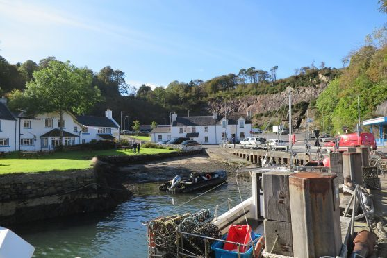 Port Askaig on Islay. Photograph: Judith McIntyre, from Fochabers