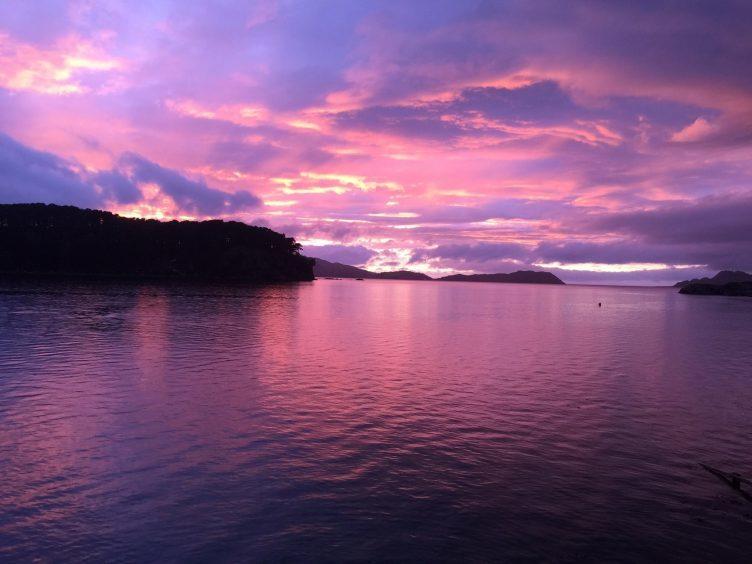 Looking North from Loch Shieldaig. Photograph: Sandy MacVarish, of Lochcarron