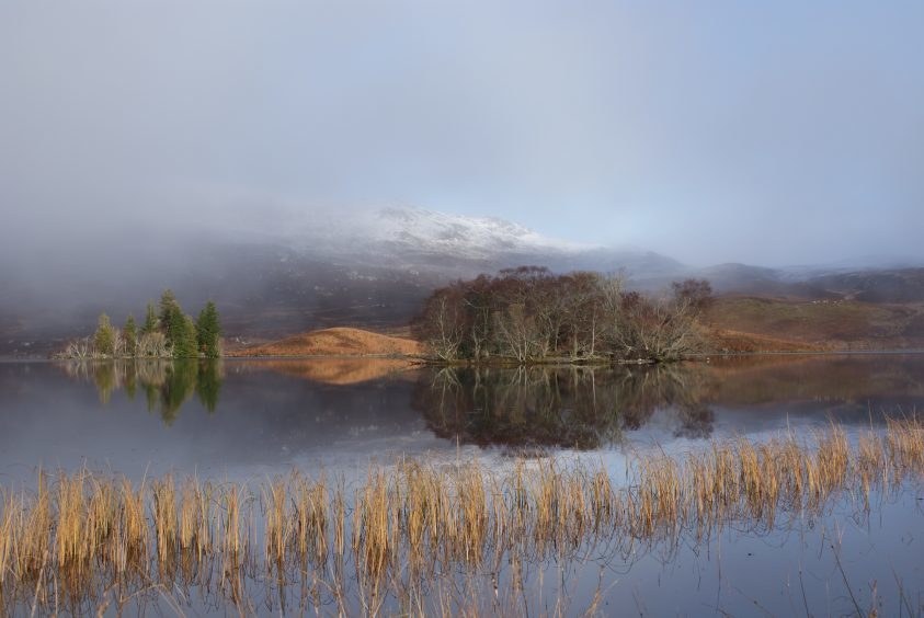 Loch Tarff in Invernesshire on a chilly morning. Picture courtesy of Reader Brian Reid