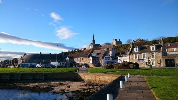 A view of Lossiemouth in the sun. Picture courtesy of reader Bruce Murray, Ballater