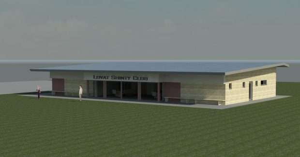 An impression of how the new clubhouse will look