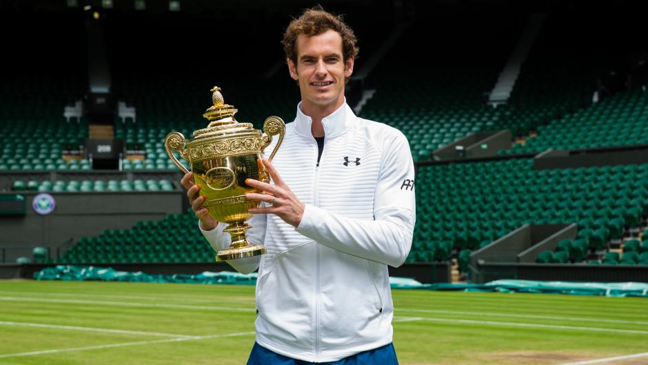 Andy Murray won this year's Wimbledon
