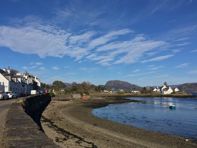 A view of the Wester Ross coastal village of Plockton. Picture courtesy of Gwen Paxton