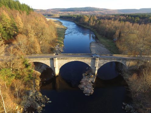 Potarch Bridge, on Royal Deeside. Picture courtesy of reader Ryan Winterburn