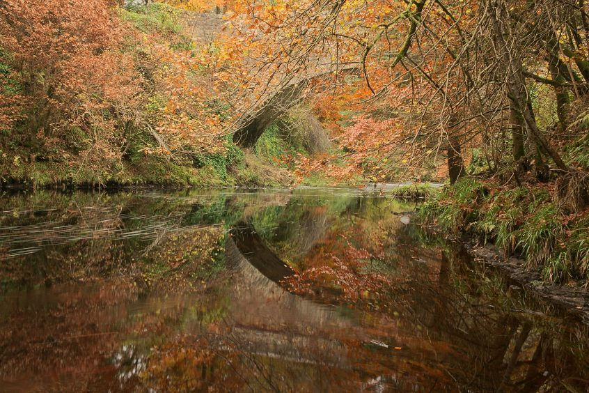 Bridge over River Findhorn Picture courtesy of Hamish Ewan