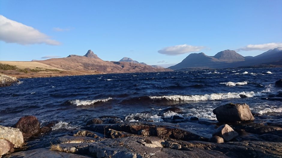 Stac pollaidh in the sun. Picture courtesy of reader Kenny Davidson