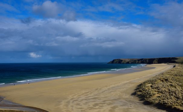 Traigh Mhor in the Hebrides. Picture courtesy of reader Morris Macleod
