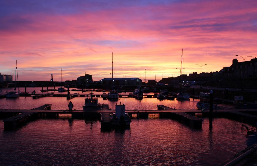 Wick Harbour Picture courtesy of Reader Derek Bremner, Wick