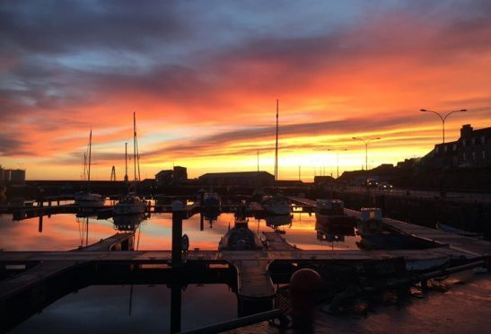 Wick harbour, early morning. Picture courtesy of Reader Sandra Mackenzie, of Halkirk