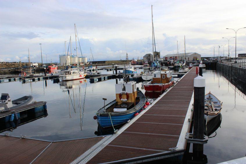 Wick Harbour. Photograph: Derek Bremner