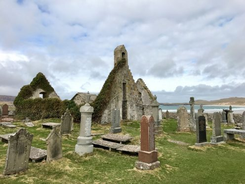 The ruined church at Balnakeil near Durness in Sutherland. Photograph: Gregor Innes