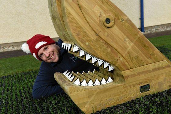Macduff Marine Aquarium, raised money to create a park.