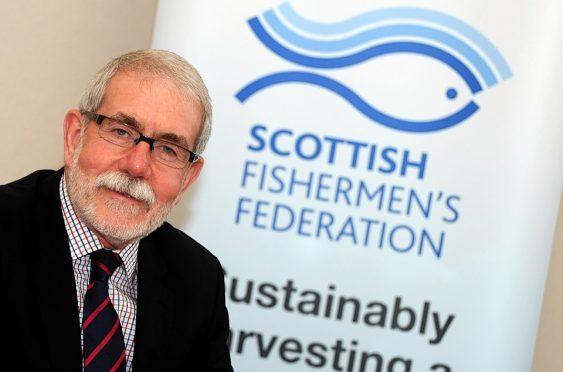 Bertie Armstrong, Scottish Fisherman's Association chief executive