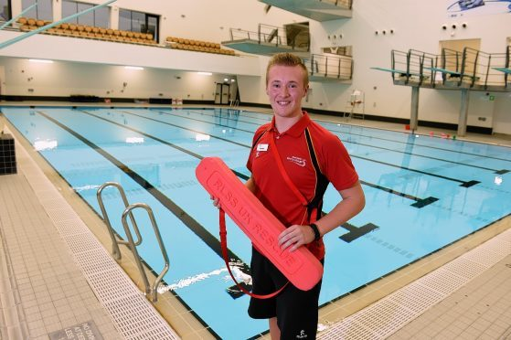Aberdeen Lifeguard Secures Dream Job Months After Leaving School Press And Journal