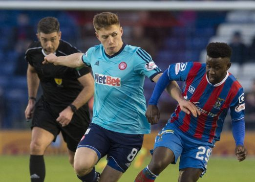 Larnell Cole has impressed for Caley Thistle in recent weeks.