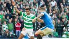 Celtic's Scott Sinclair (left) is looking forward to renewing hostilities with Rangers