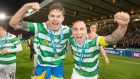 Scott Brown, right, keen for winning Ibrox return with Celtic