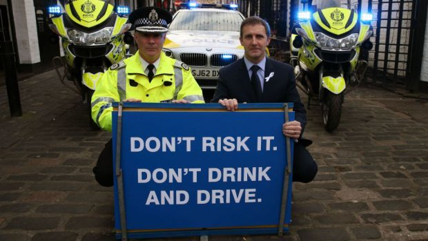 Police have launched a festive campaign warning motorists against drink-driving