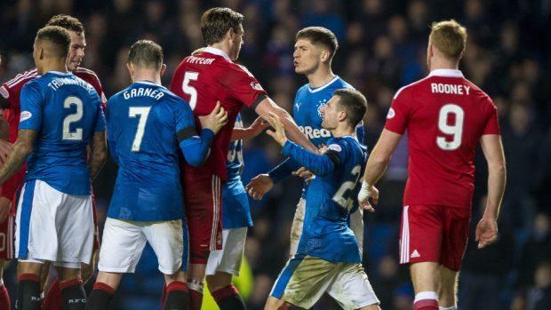 Rangers showed plenty of fight against Aberdeen
