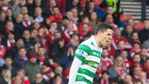Tom Rogic scored Celtic's winner in the last minute.