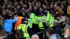 Celtic have been charged with crowd trouble at the Etihad Stadium