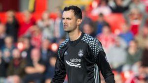 Dons goalkeeper Joe Lewis loving football again after fresh start at Pittodrie